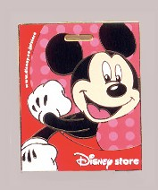 Mickey on Red Shopping Bag