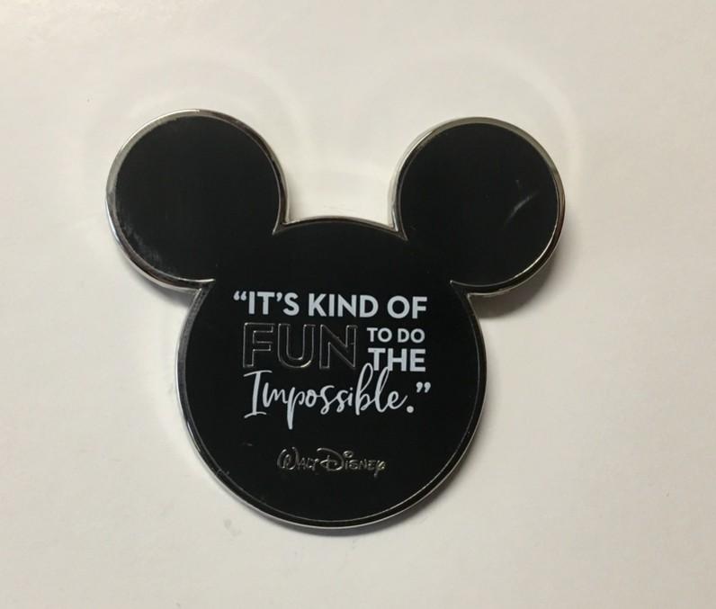 Disney Wisdom Starter Pin