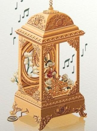 SCROOGE MUSIC BOX