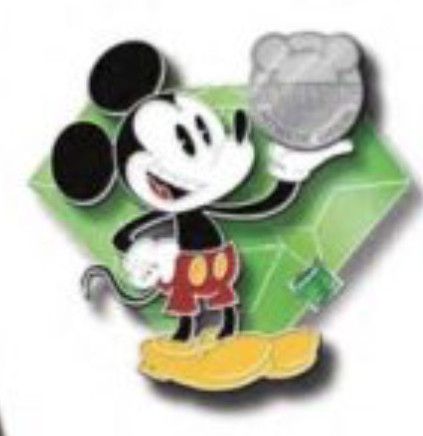2020 - Mickey holding the Pintrading Logo