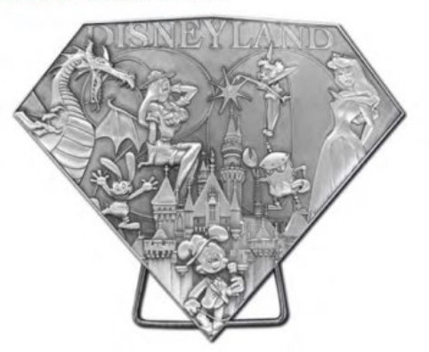 Disneyland Resort Edition Jumbo Sculpted Pin