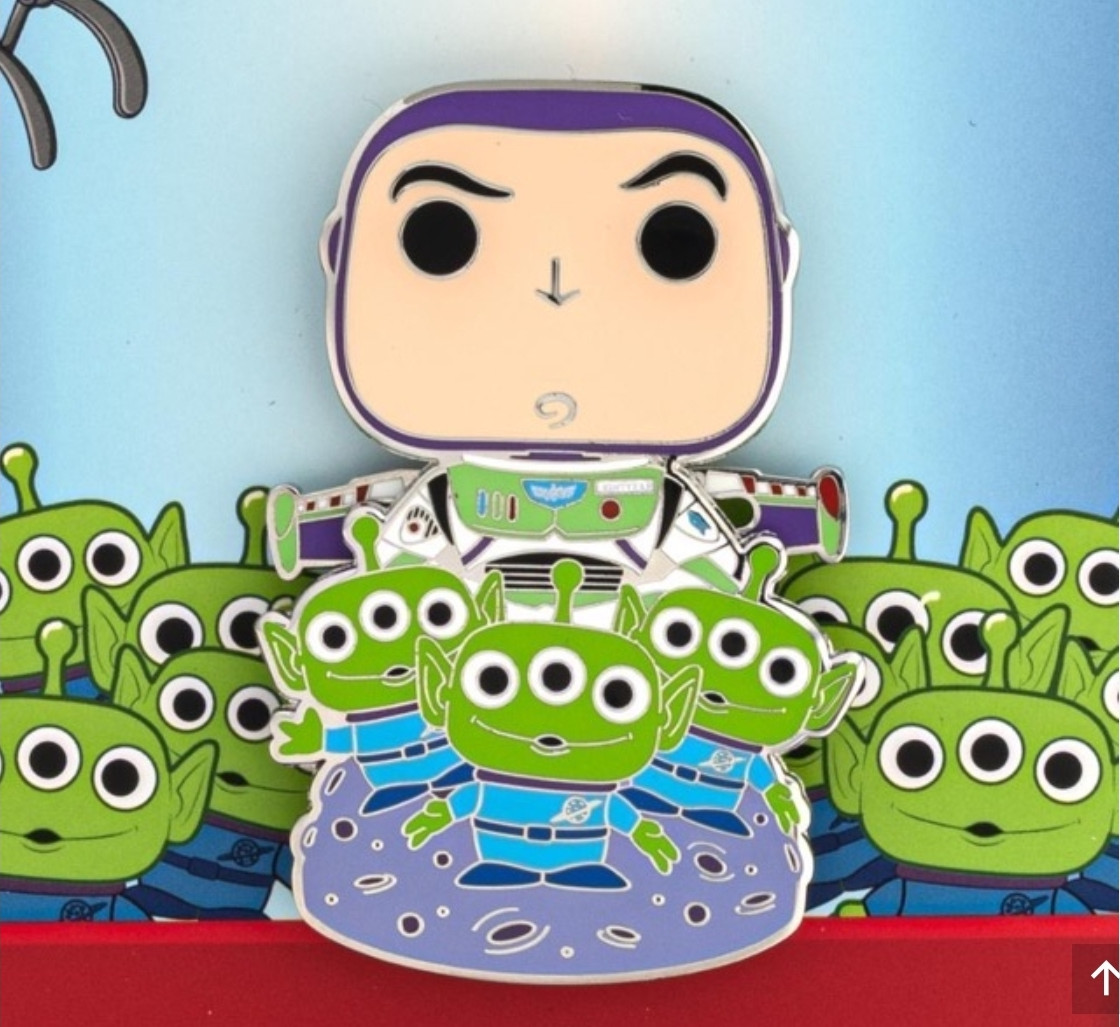 Buzz Lightyear and Aliens