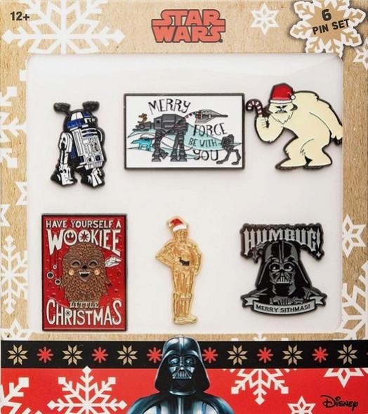 Star Wars Holidays Pin Set