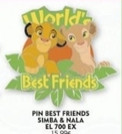 DLP - World's Best Friends - The Lion King - Simba and Nala