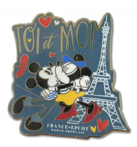 France Mickey and Minnie Toi et Moi
